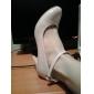 Damă Pantofi Sintetic Vară Toamnă Toc Stiletto Cu Dantelă Pentru Rochie Migdală Negru Roz