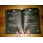 Mai multe accesorii Inspirat de Death Note Cosplay Anime Accesorii Cosplay Mai multe accesorii Negru Hârtie / PU Piele Bărbătesc / Feminin