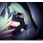 Mască Inspirat de Tokyo Ghoul Cosplay Anime Accesorii Cosplay Mască Negru Piele Bărbătesc