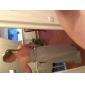 Coloană / Teacă Fără Bretele In Formă de Inimă Lungime Podea Șifon Rochie Domnișoară Onoare cu Flori Cruce de LAN TING BRIDE®