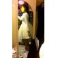 Cămăși de noapte A-Line Slip Jupă Rochie de Bal Lungime scurtă 4 Nailon Plasă din tul