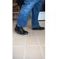 Bărbați Pantofi Piele Iarnă Primăvară Vară Toamnă Confortabili Pantofi vulcanizați Cizme Cizme/Cizme la Gleznă Dantelă Pentru Casual