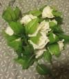 Flori artificiale 1 ramură Pastoral Stil Trandafiri Flori Perete