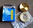 Flip-deschis placat cu aur noctilucent buzunar Compass
