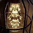1pc 3 W LED Filament Bulbs 200 lm E26 / E27 ST64 47 LED Beads COB Decorative Starry Christmas Wedding Decoration Warm White 220-240 V / RoHS