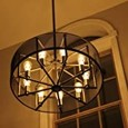 1pc 3 W LED Filament Bulbs 300 lm E26 / E27 ST64 47 LED Beads Integrate LED Decorative Starry Warm White 85-265 V / RoHS