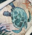 seinätaide kangasjulisteet maalaus taideteos kuva eläimet meren elämä mustekala valas kilpikonna kodin sisustus sisustus valssattu kangas ei kehystä kehystämätön venyttämätön