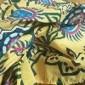 Γυναικεία Φόρεμα ριχτό από τη μέση και κάτω Μακρύ φόρεμα Θαλασσί Κίτρινο Χακί Πράσινο του τριφυλλιού Ρουμπίνι Αμάνικο Στάμπα Βασικό Καλοκαίρι Βαθύ U καυτό Καθημερινό Μπόχο Αργίες Φαρδιά Τ M L XL XXL